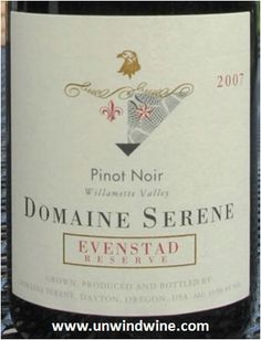2007 Domaine Serene...