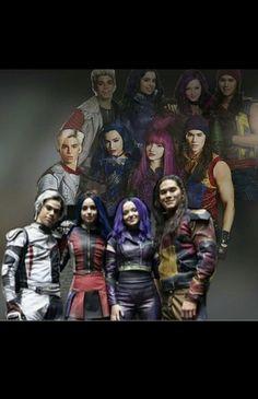 Costumes throughout the franchise💜💙❤️💛x Dove Cameron Descendants, Descendants Characters, Disney Channel Movies, Disney Channel Descendants, Disney Descendants 3, Descendants Cast, 3 Characters, Disney Movies, Secret Warriors