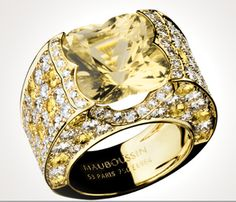 Design by Mauboussin, a French jeweler.