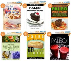 FREE eBooks 12/28/13! If you don't own a Kindle you can download a free Kindle reader to PC, Mac, iPhone, iPad, BlackBerry, or Android phone: 1) Paleo for Kids Recipes: The Complete Guide for Breakfast, Lunch, Dinner, and More 2) Paleo Dessert Recipes: The Simple Guide to Cakes, Pies, Muffins and More (Easy Recipes)  3) Paleo For Beginners (Paleo Diet) 4) The Top 10 Paleo Diet Foods You Absolutely Need 5) Paleo Bread Recipes 6) No-Cook Paleo! - Smoothie Recipes #diet #food