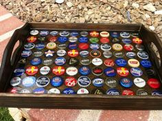 Bottle Cap Tray   Do It Yourself Home Projects from Ana White