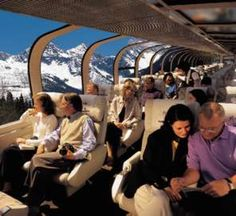 Go Move it up on your Bucket List. Five Star menus.fun crew Beyond compare. Vacation of a lifetime. Places To Travel, Travel Destinations, Places To Go, Train Tracks, Train Rides, Rocky Mountaineer Train, Train Tour, Ferrat, Train Journey