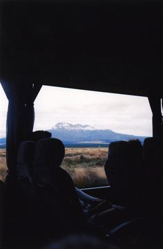 Passing through Tongariro National Park, New Zealand  http://drift-project.tumblr.com/#