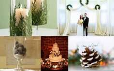 simple ways to decorate wedding arch | christmas wedding, christmas wedding decorations