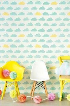 papel-infantil-nubes-azul-amarillo copia