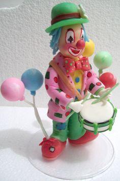 Topo de bolo, tema circo