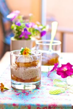 Roasted Peach Tapioca Pudding Recipe   FamilyFreshCooking.com   Gluten Free and Vegan — Family Fresh Cooking