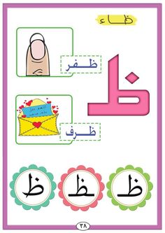Arabic Alphabet Letters, Arabic Alphabet For Kids, Alphabet Crafts, Letter A Crafts, Learn Arabic Online, Arabic Lessons, School Clipart, Educational Crafts, English Fun