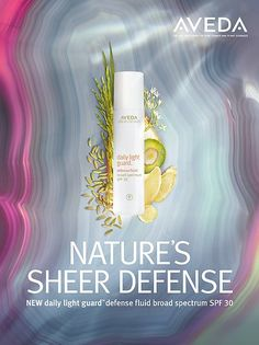 New Daily Light Guard, for sun protection, Aveda