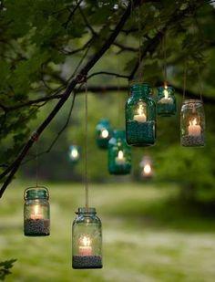 hanging jars