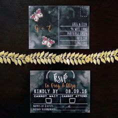 Autumn / Fall Wedding Stationery