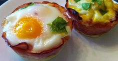 A Paleo Breakfast: Baked Eggs in Ham Cups – Easy and Delicious! A Paleo Breakfast: Baked Eggs in Ham Cups – Easy and Delicious! Breakfast Ham Cups, Low Carb Breakfast, Free Breakfast, Breakfast Recipes, Breakfast Ideas, Breakfast Frittata, Breakfast Crockpot, Dinner Recipes, Paleo Recipes