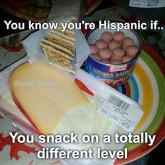 Hispanic and Puerto Ricans be like ...