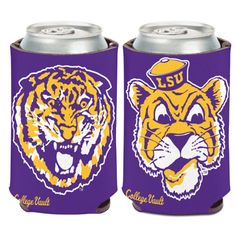 LSU Vintage Tiger Coozie — Party Cup Express