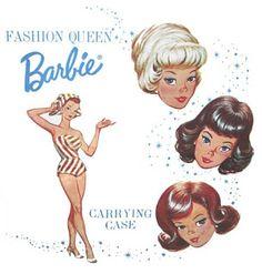 Vintage Barbie illustrations