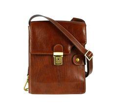 Brown Leather Messenger Bag for Men and Women - Cloud Atlas Brown Leather Messenger Bag, Leather Belt Bag, Messenger Bag Men, Leather Wallet, Leather Bags Handmade, Modern Man, Satchel, Shoulder Bag, Vintage