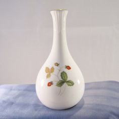 Wedgwood Bone China Bud Vase-this delicate by NowAndThenConnection