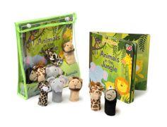 Finger Puppet Book - Jungle Kids Toys Online www.greenanttoys.com.au