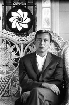 Jasper Johns, c.1964:  I have meant what I have done. Or – I have often meant what I have done. Or – I have sometimes meant what I have done. Or – I have tried to mean what I was doing.  Portrait by Dennis Hopper