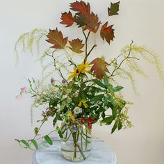 My floral designs express the character of the seasons. Each design is unique and a joy to create. This is Autumn and her quiet transition into Winter.
