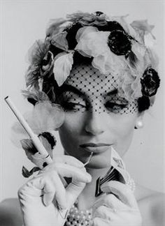 cast125 - Anouk Aimée by William Klein (Paris 1962). @Deidré Wallace