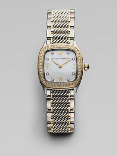 david yurman diamond watch sakscom