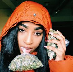 Thug Girl, Smoke Pictures, Puff And Pass, Stoner Girl, Bratz Doll, Grillz, Bad Girl Aesthetic, After Dark