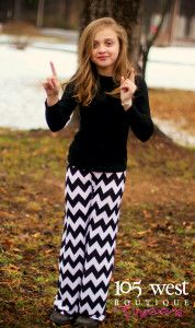 Tween Chevron Palazzo Pants.  24.99. ~ 105 West Boutique located in  Abbeville 0fe1fd9d8