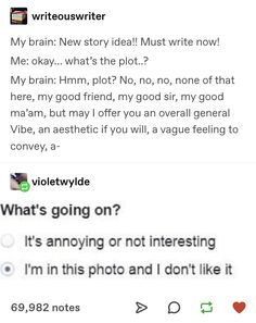 𝐞𝐥𝐢𝐧𝐞 You are in the right place about Authors memes Here we offer you the most beautiful pictures about the Authors character you are looking for. When you examine the 𝐞𝐥𝐢𝐧𝐞 part of the picture you c Writing Humor, Writing Quotes, Writing Advice, Writing A Book, Writing Prompts, My Tumblr, Tumblr Funny, Infp, Fandoms