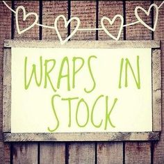Wraps in stock!! Woo hoo www.blessedbyiyworks.com                                                                                                                                                      More
