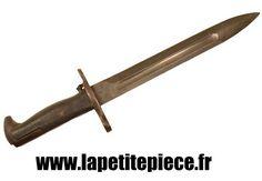 Baionnette M1 courte pour Fusil Garand. Fabrication U.C.