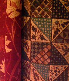 patchwork and flowers