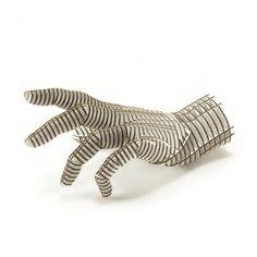 D-Torso linke Hand