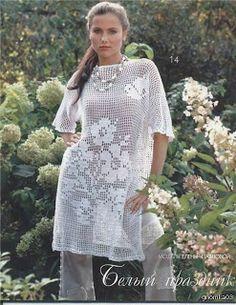 Pulli Tunika häkeln - crochet sweater tunic