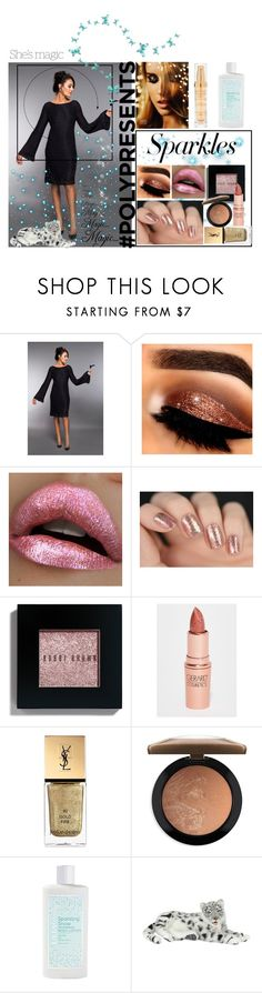 """""""#PolyPresents: Sparkly Beauty"""" by max-chance ❤ liked on Polyvore featuring beauty, Bobbi Brown Cosmetics, Gerard Cosmetics, Yves Saint Laurent, MAC Cosmetics, Nicole, ULTA, Hansa, Hampton Sun and contestentry"""