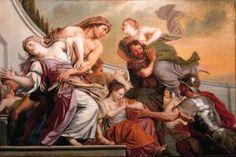 """Adriaen Backer """"Rape of the Sabine Women"""""""
