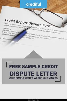 How to write a credit dispute letter to send to the credit bureaus so that you can successfully remove one or more negative items from your credit rep Dispute Credit Report, Credit Dispute, Free Credit Score, Improve Your Credit Score, Credit Reporting Agencies, How To Fix Credit, Letter N Words, Credit Bureaus, Money Saving Tips