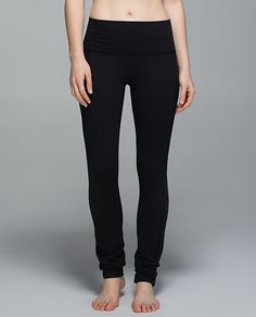 These are some of my favorite pants, I seriously bought 2 pairs so i could wear them almost every day! Skinny Groove Pant II