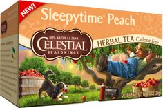 The benefits of Sleepytime Tea now with the flavor of peach...sweet dreams! :)