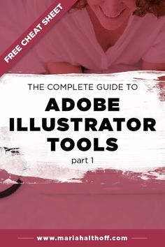 Looking to learn Adobe Illustrator? Or maybe you're teaching yourself graphi… Looking to learn Adobe Illustrator? Or maybe you're teaching yourself graphic design? This guide to Adobe Illustrator tools is the perfect place to start! Adobe Illustrator Tutorials, Photoshop Illustrator, Learn Illustrator, Graphic Design Tutorials, Graphic Design Inspiration, Inkscape Tutorials, Logos Retro, Vintage Logos, Vintage Typography