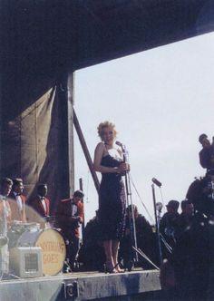 Marilyn Monroe ~ Feb.19th 1954 Entertaining the Troops in Korea