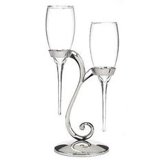 Glassware 102467: Raindrop Flutes With Swirl Stand -> BUY IT NOW ONLY: $37.08 on eBay!