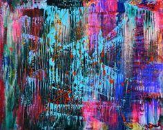 "Saatchi Art Artist Nestor Toro; Painting, ""Iridescent magnets (Electric Storm)"" #art"