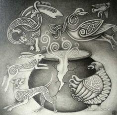 The Cauldron of Ceridwen