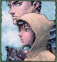 Guts, Casca and Puck
