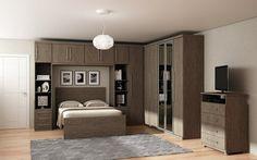 Simple Bedroom Decor, Bedroom Closet Design, Small Room Bedroom, Master Bedroom Design, Home Decor Bedroom, Bedroom Built In Wardrobe, Bedroom Built Ins, Fitted Bedroom Furniture, Fitted Bedrooms