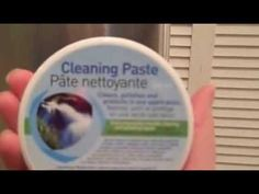Norwex Cleaning Paste Demo - YouTube