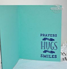 ChristineCreations: Helicopter Prayers and Hugs and Smiles