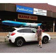 Another happy ocean kayak customer.  #oceankayak  Come and get yours today!