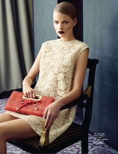 Franziska Frank for Harper's Bazaar Hong Kong